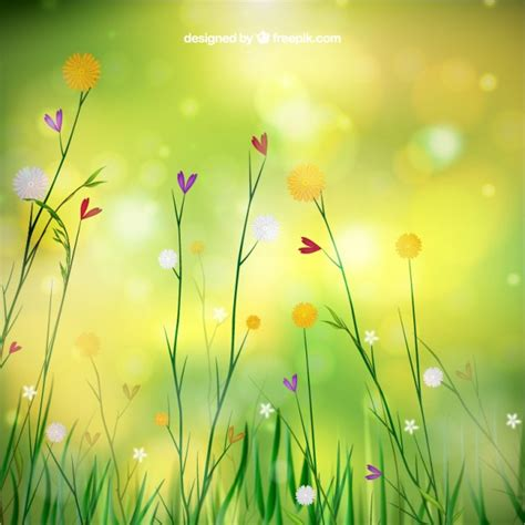immagini fiori primavera primavera sfondo con fiori scaricare vettori gratis