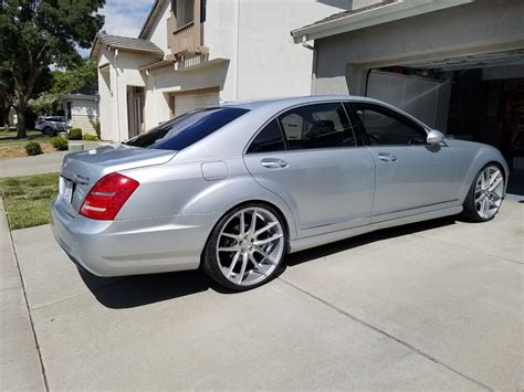 Mercedes S550 2007 by 2007 Mercedes W221 S550 On 22 Quot Niche Wheels Benztuning