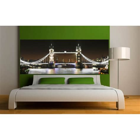 Tete De Lit Londres by Stickers T 234 Te De Lit D 233 Co Chambre Londres Stickers