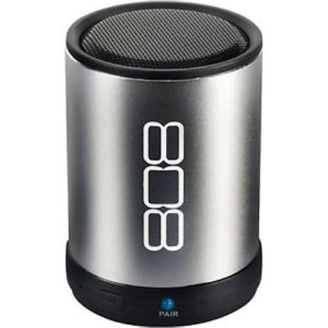 808 Thump Bluetooth Speaker by 808 Thump Bluetooth Speaker 2 36 Quot H X 2 36 Quot W X 2 36 Quot D Black
