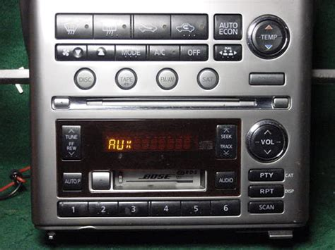 infiniti gx4 new products factory radio service car factory radio