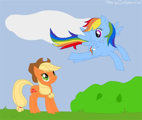 cool rainbow dash together with my little pony friendship is magic my little pony appledash by cool rainbow dash on deviantart