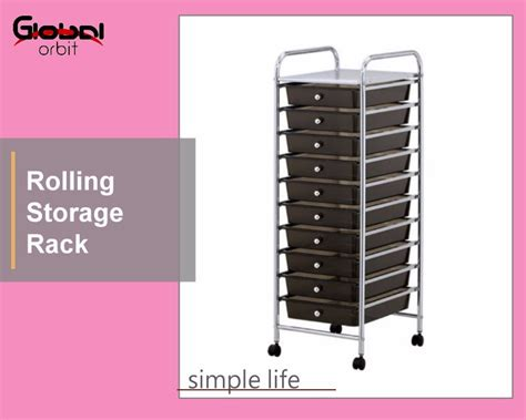 Trolley Rak Salon Plastik rolling plastic drawer cart rack salon storage trolley portable office stand buy pp drawer