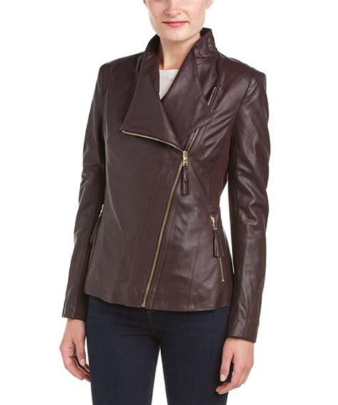 Via Spiga Jacket For by Via Spiga Via Spiga Leather Jacket 405184301 Bluefly