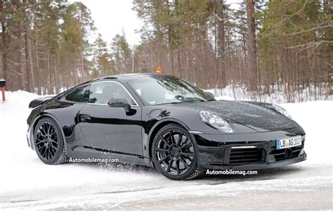 2019 new porsche 911 spied 2019 porsche 911 automobile magazine