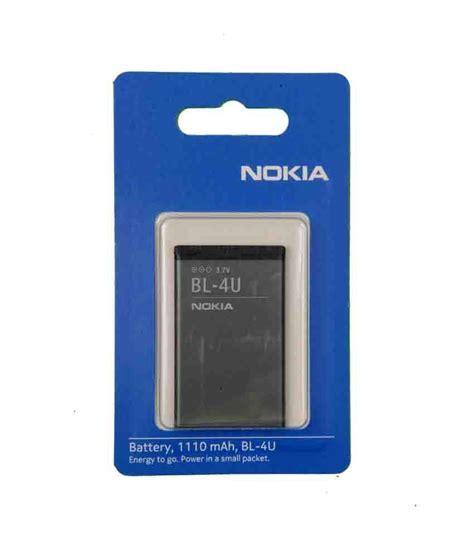 Battery Nokia Bl 4u Original nokia original mobile battery of model bl 4u with 1110 mah