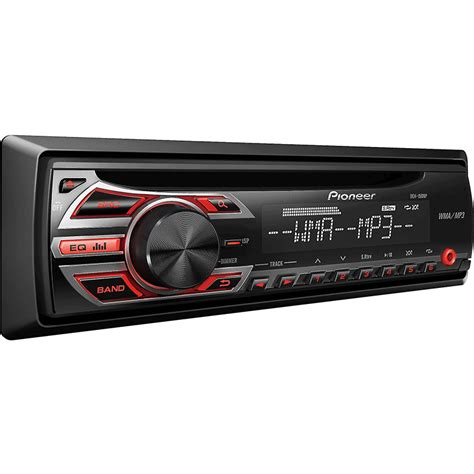 Single Din Cd Player Usb Mp3 Pioneer Deh X1950ub pioneer deh 150mp single din in dash cd mp3 receiver with front aux at onlinecarstereo