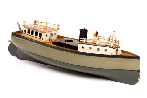 steam boat toy simple german toy boat steams to 163 11 500 at auction
