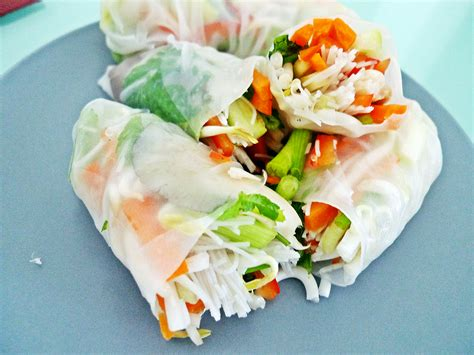 Rice Paper Rolls - free from the three style rice paper rolls