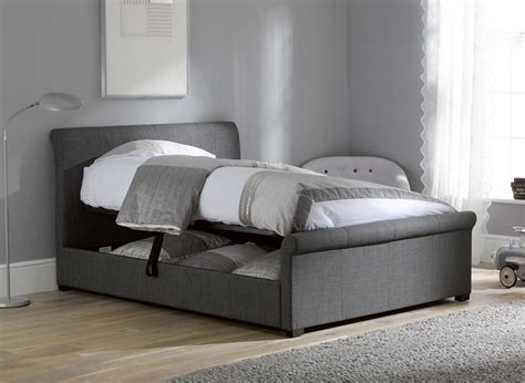 of bed storage ottoman wilson ottoman bed frame dreams