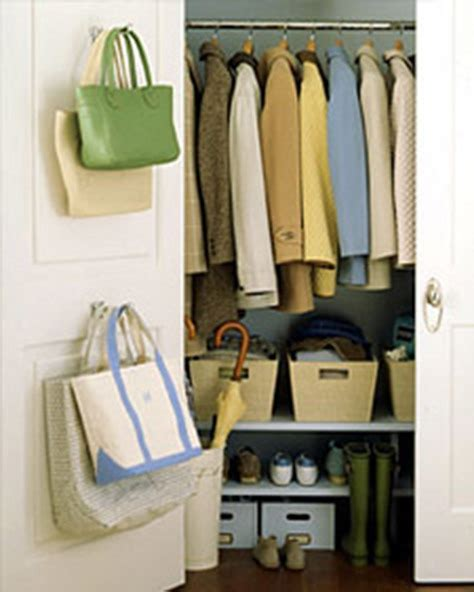 Entry Closet Organization Ideas by 20 Back Of Door Storage Ideas