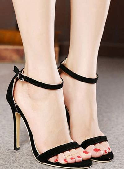high heel flats high heels with ankle ha heel