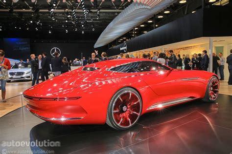mercedes maybach 6 convertible to headline 2017 pebble