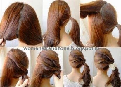 quick n easy hairstyles for short hair september 2014 womenstrendzone