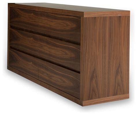 vermont walnut chest of drawers modern dressers