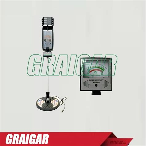 Secure Search Md Md 5002 Ground Search Metal Detector Graigar China