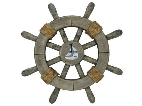sailing boat steering wheel nautical gifts and decor for the festive holiday season