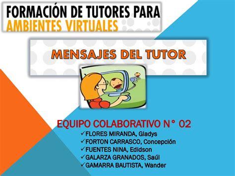 imagenes de tutores virtuales calam 233 o mensajes de los tutores virtuales