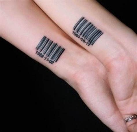 bar tattoo 24 best friends wrist designs