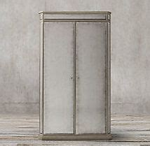 white grayson vitrine armoires cupboards cabinets