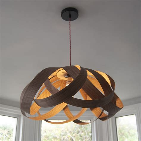 Random Lights   Daisy large lampshade (walnut wood)