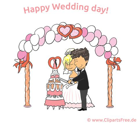 Wedding Day Clip Free by Happy Wedding Day Clip Ecard