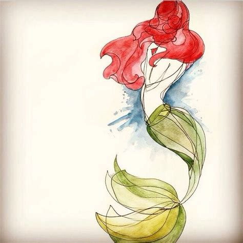 mermaid watercolor tattoo watercolor mermaid mermaids