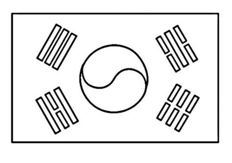 digital dunes free korean flag coloring pages