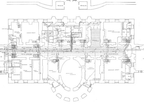 floor plan for the white house white house floor plan layout