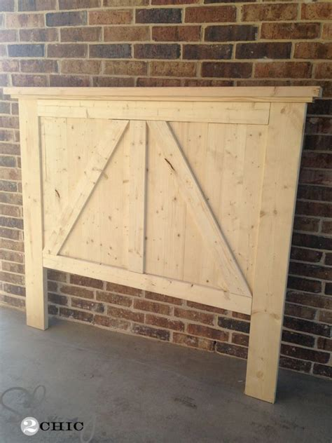 diy barn door headboard barn door headboards door