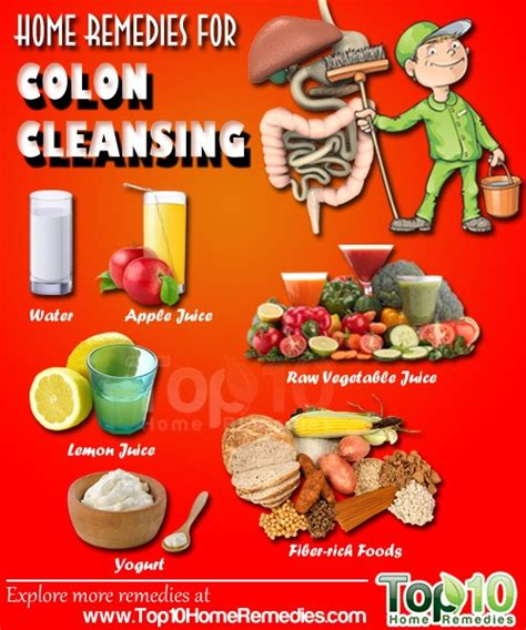 Detox Recipe For Cleaning Out Intestines by Home Remedies For Colon Cleansing Top 10 Home Remedies