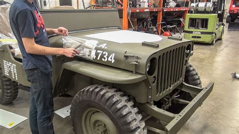 Jeep Time willys jeep restoration time lapse no