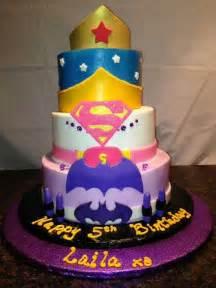 girly super hero cake baking things pinterest