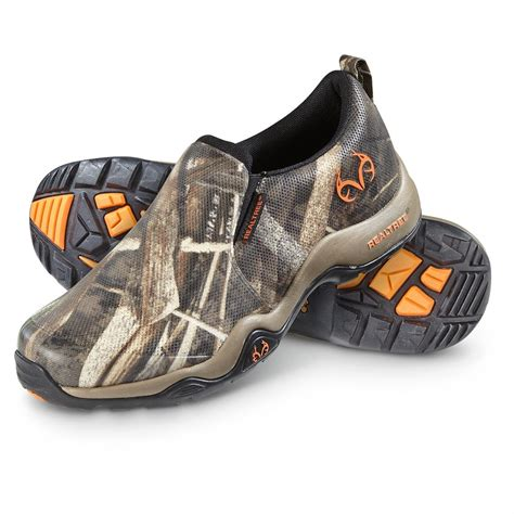 realtree shoes realtree s ranger memory foam slip on shoes max 5