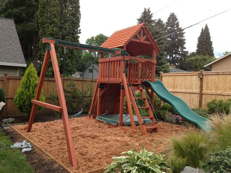 small backyard play structures 17 best images about play structures on pinterest trees small yards and kid