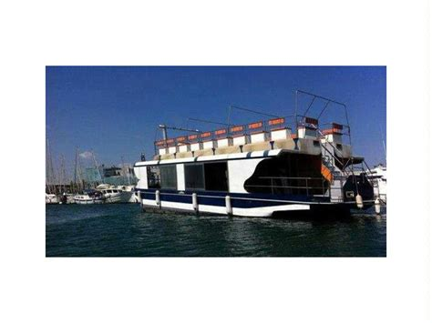 pontoon boat in spanish pontoon boat in spain power boats used 25610 inautia