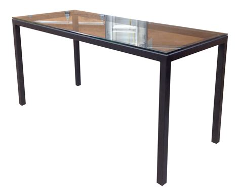 room and board parsons table room board counter height steel parsons table chairish