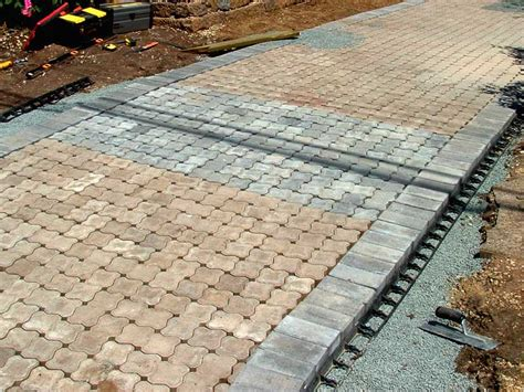 permeable paver design devine design hardscapes