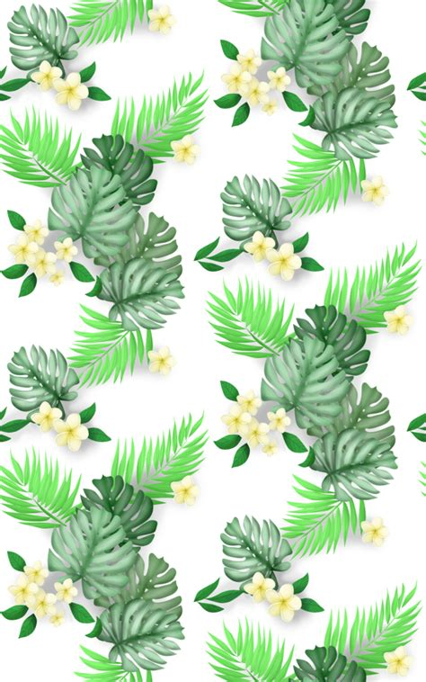tropical pattern png seamless hawaiian floral print by enkai on deviantart