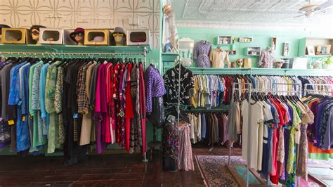 best vintage clothing stores for antiques and 1960s fashion