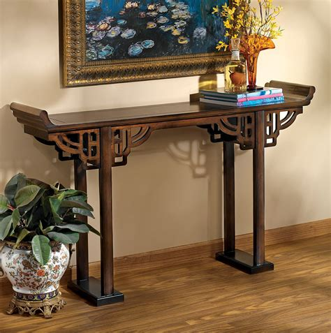 asian console table asian console tables furniture home design ideas