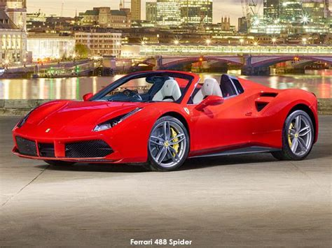 Ferrari Models And Prices by Ferrari 488 Spider Price Spec For Sa Latest Model Open
