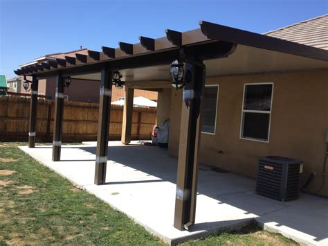 Covered Patios Attached To House