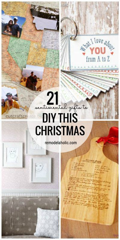 25 best ideas about sentimental gifts on pinterest