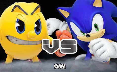 imagenes epicas de sonic sonic vs pacman batalla de rap emgi youtube