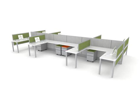 open concept workstation office furniture ethosource