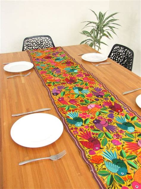 mexican blouse table runners and runners on pinterest