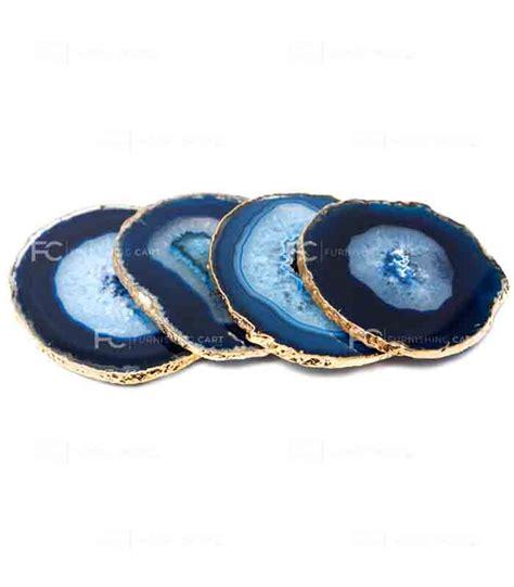 blue agate coaster blue agate coasters furnishingcart