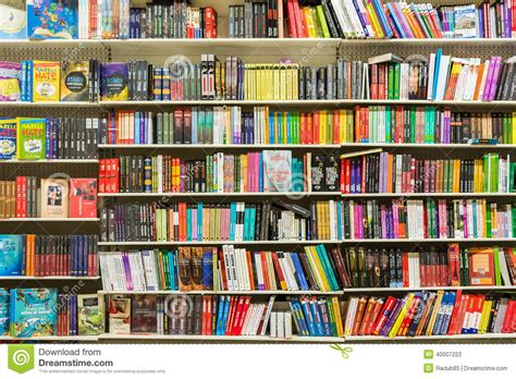 etagere novel books on library shelf editorial photography image of