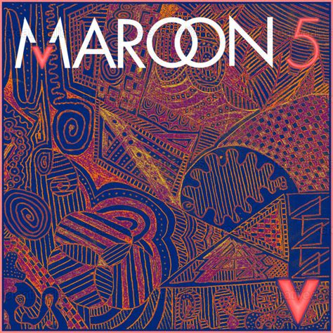 design cover maroon 5 maroon 5 album cover by nebojsa